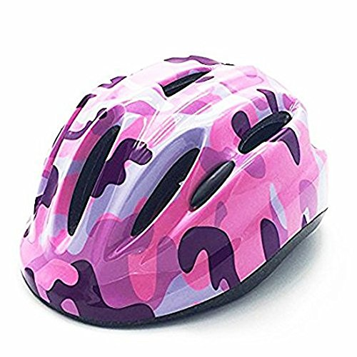 Pink Toddler Kids Child Multi-sport Outdoor Light-weight Cycling Bike Bicycle Helmet Head Protective Gear with Adjustable Dial for Boys Girls Age 3-4 5-7