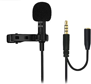 XIAOKOA Micrófono para Smartphone con conexión de auriculares ...