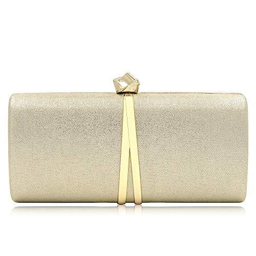 PU Clutches Bags Evening Embossing Women Superw Fashion Gold Clutch Purses Handbag 6aURqg