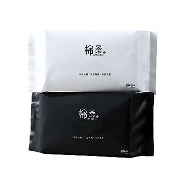 Lechuang Home YX Shop® Toalla De Cara Desechable Toallitas De Algodón para Bebés Adulto Hombres