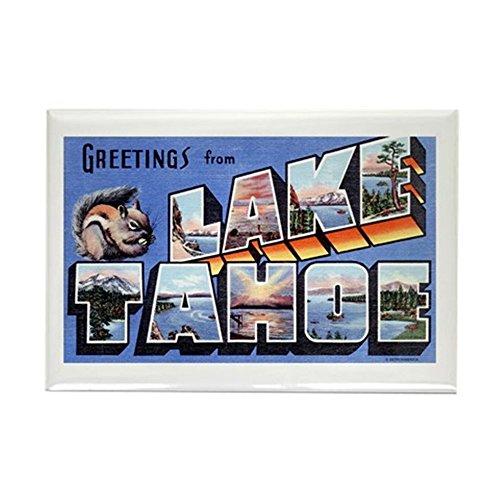 CafePress - Lake Tahoe Nevada NV - Rectangle Magnet, 2