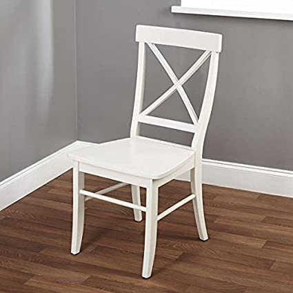 Desk Chairs / Dining Chair , Simple Living Easton Antique White Cross-back  Chair 1516227 - Amazon.com - Desk Chairs / Dining Chair, Simple Living Easton