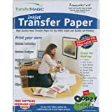 Transfer Magic Ink Jet Transfer Paper-8-1/2-InchX11-Inch 7-Pack