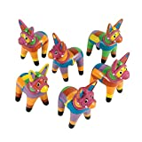 Fun Express Small Fiesta Donkeys Party Favors - 12 Pieces