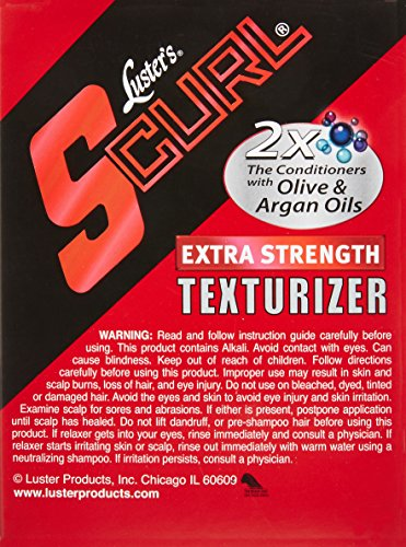 Luster's SCurl Extra Strength Texturizer 2 Applications