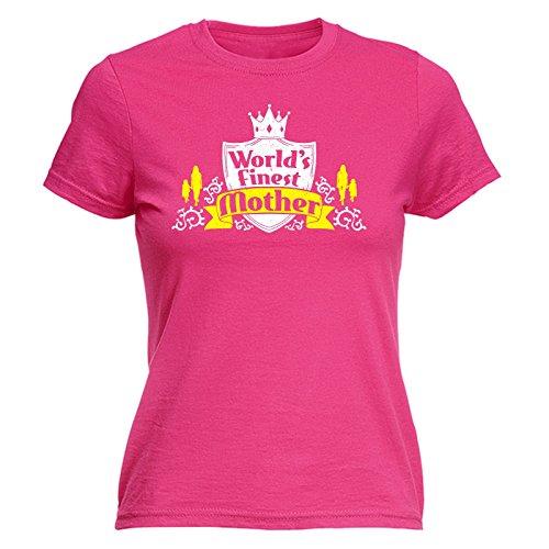 T Rosa Femme Slogan Slogans Acceso Courtes 123t Manches shirt 0T5TxY