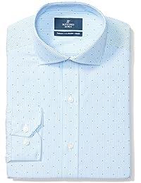 Men's Tailored Fit Pattern Non-Iron Dress Shirt