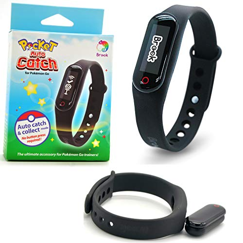 CtrlDepot Brook Pocket Auto Catch Compatible for Pokemon Go Plus Bracelet Wristband & Watch Band Collect Catcher for iOS 8.0-11.0, Android 4.0-7.0]()