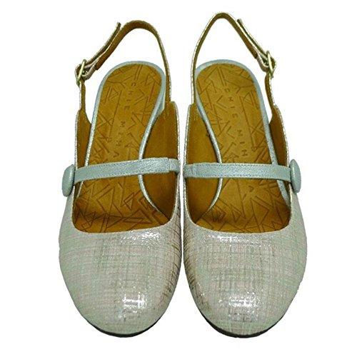 Chie Mihara Zapato Destalonado con Tacón Cómodo tibi Nude