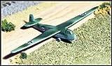 WWII Micro Armour - Germany - German Luftwaffe DFS-230 Glider