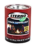 sterno canned heat - Sterno 7-Ounce Outdoor Cooking Fuel, 2-Pack