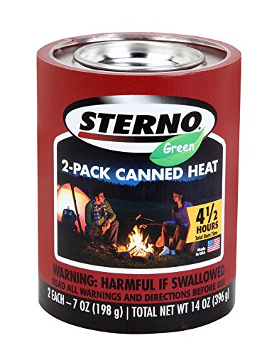 Sterno 20506 7-Ounce Outdoor Cooking Fuel, 2-Pack by Sterno