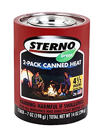 Amazon Com Sterno Ounce Outdoor Cooking Fuel Pack Kitchen