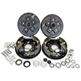 Southwest Wheel 3,500 lbs. Trailer Axle Hydraulic Brake Kit 5-4.5 Bolt Circle