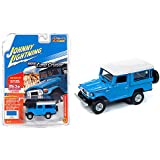 1980 Toyota Land Cruiser Light Blue with White Top Limited Edition to 4,800 Pieces Worldwide 1