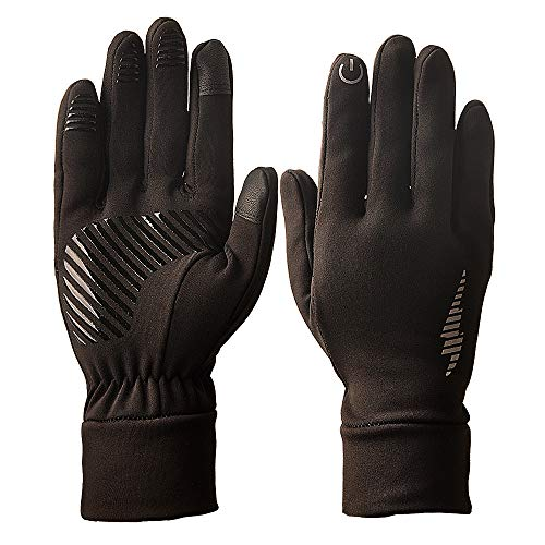Touch Screen Gloves,Refial Winter Gloves, Anti-Slip Palm Silicone, Suitable for Indoor and Outdoor Sports, Short-Distance Cycling, Driving, Gardening, Mountain Bike Riding, Gloves for Men and Women
