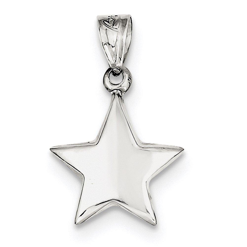 Lex /& Lu Sterling Silver Star Charm LAL103765
