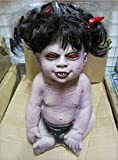 HOMEE Halloween Ghost Dolls Furnished Products Bar Decorated Ktv Saints Props Terrorist Ghost Houses, Eat Your Zombies,Zombie Female