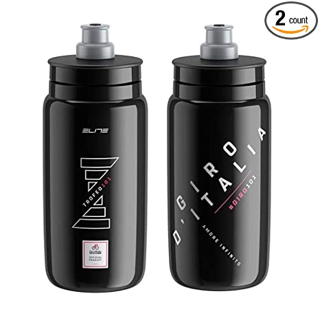 69703be5ab Amazon.com : Elite Fly Giro d'Italia 101 Cycling Water Bottles ...