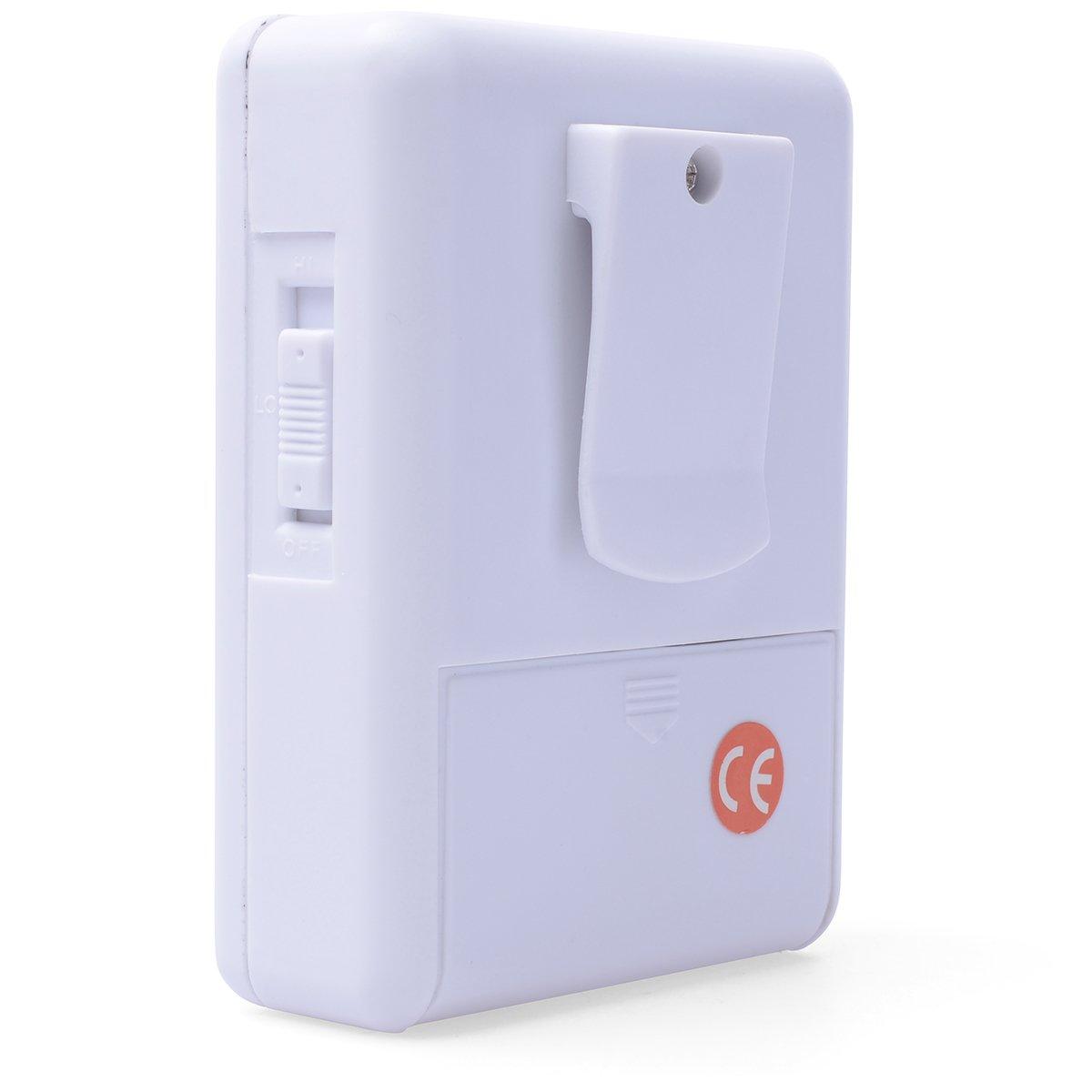 Xcsource Wireless Digital Infrared Monitor Sensor Detector Alarm