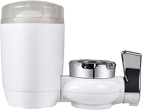 Tap Water Purifier Faucet Water Filter Mini Syst/ème de Filtration Filtre /à Eau du Robinet pour Cuisine et Salle de Bains Compatible Standard robinets 3 pi/èces
