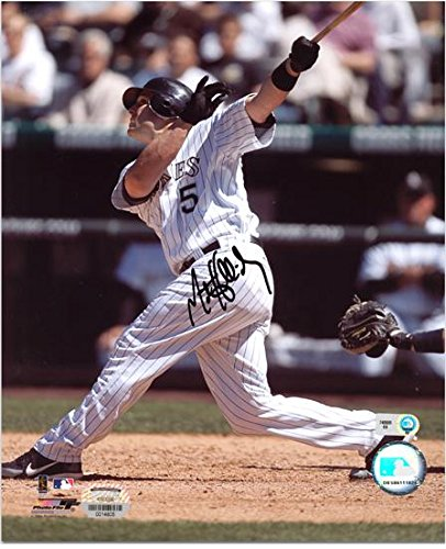 Matt Holliday Colorado Rockies Autographed 8