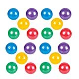Adorox 20 Pack Colorful Knobby Balls Bouncy Party Favors Toys Novelty 5''