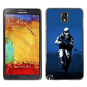 GagaDesign Phone Accessories: Hard Case Cover for Samsung Galaxy Note 3 - Winter Soldier