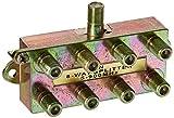 Morris 45055 8 Way Splitters with Ground Block, 5-900 MHz