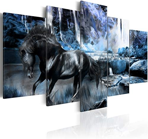 Waterfall Landscape Painting Decoration Stretched product image