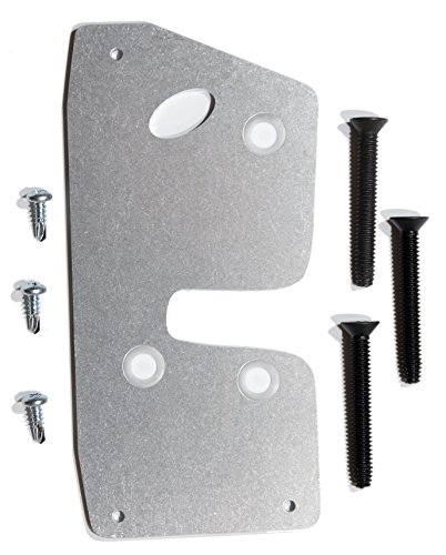 CS Works Door Latch Repair & Reinforcement Plate with Replacement Bolts fits Dodge Ram (BR) 94-01 2nd gen LEFT/DRIVER -
