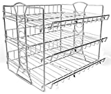 IZLIF 3 Tier Stackable Pantry Can Rack Organizer Storage for 36 Cans