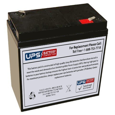 6V 36Ah F2 - Compatible Replacement Battery for Teledyne Big Beam S650