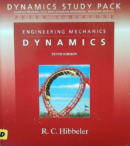 Engineering Mechanics Dynamics: Dynamics Study Pack: FBD Workbook Dynamics