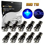 mitsubishi 3000gt speedometer - Partsam 10X Blue T5 74 2721 LED Bulbs Speedometer Dash Gauge Light 17 18 37 70 3SMD
