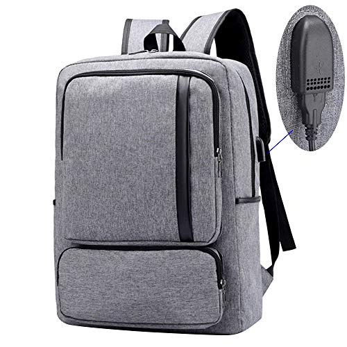 Travel 15.6 Inch Laptop Backpack Business College Computer Bag with USB Charging Port Fit HP Zbook, Essential, Omen, Pavilion, Gaming Pavilion, Spectre x360, Envy x360, Elitebook, Probook