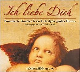 online for sale wholesale good looking Ich liebe Dich. Prominente Stimmen lesen Liebeslyrik großer ...
