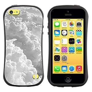 Suave TPU GEL Carcasa Funda Silicona Blando Estuche Caso de protección (para) Apple Iphone 5C / CECELL Phone case / / Sky Awe Inspiring God Sun Clouds Flying /