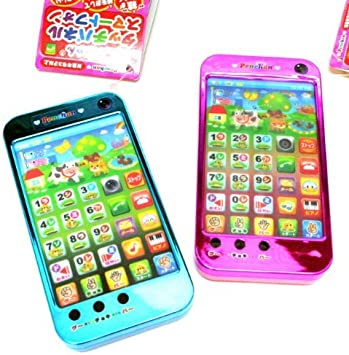 Tsuyama Educational Toy Pen-Chan Smartphone Touch Panel Type [Blue ...