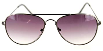 d81a64012bc Aloha Eyewear Tek Spex 9001 Unisex Progressive No-Line Aviator Bifocal  Reader Sunglasses (Gunmetal