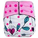 Flip Day Pack: Stay-Dry Insert (2 Covers + 6 Inserts) - Sweetbottoms Baby Boutique