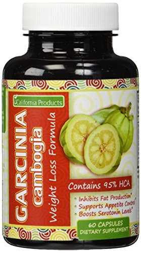 Pure 95% HCA Garcinia Cambogia Extract, No. 1 Premium Formula for Weight Loss and Appetite Suppression and Highest Grade, Best Premium Quality USA Made by Brandon Sciences