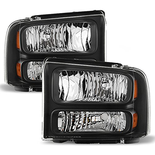 ACANII - For 2005-2007 Ford F250 F350 F450 Superduty SD Harley Davidson Headlights Headlamps Driver + Passenger Side