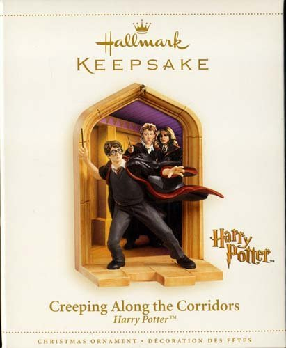 CREEPING ALONG THE CORRIDORS Harry Potter Hallmark Keepsake Ornament 2006