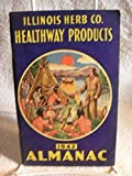 Vintage Illinois Herb Co Almanac Chicago Illinois Healthway Products 1942 Rare