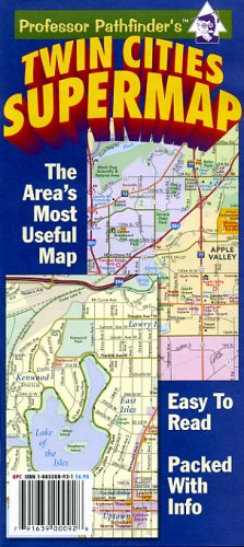 Twin Cities Supermap (Street Map Twin Cities)