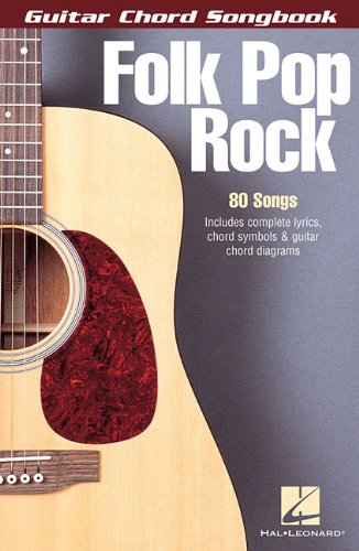 Folk Pop Rock: Guitar Chord Songbook (6 inch. x 9 inch.)