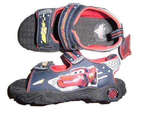 Disney Pixar - Cars - Lightning McQueen - tolle Sandale - mit Klettverschluss - dunkelblau - Gr. ca. 32 - aus USA