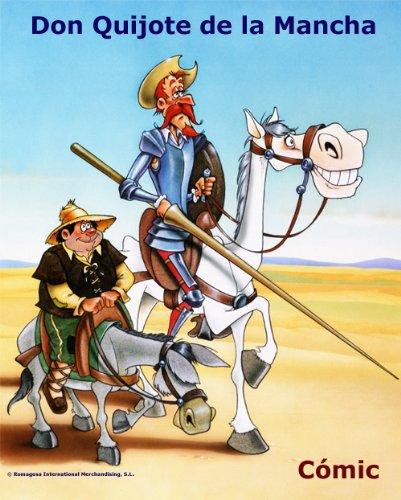 Don Quijote De La Mancha - Cómic Book (Spanish Edition)