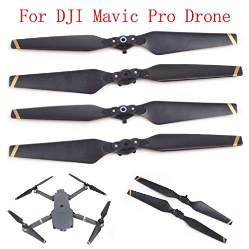 - For DJI Mavic Pro, Tuscom@ 2 Pair 8330 Quick-release Folding Propellers Screw Prop